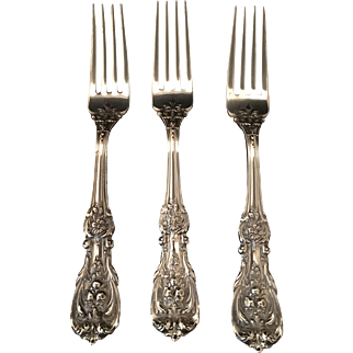 Set of 3 Francis First Large Dinner Forks