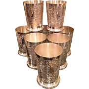 Set Of 8 Ellis Barker Julep Cups