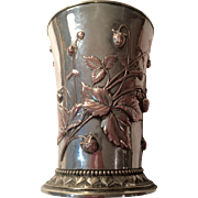 Elkington & Co. Silver On Copper Beaker C:1874