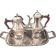 Ellis Barker  Bachelor Tea/Coffee Set With Tray
