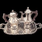 Ellis Barker  Bachelor Tea/Coffee Set With Tray