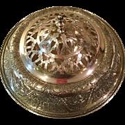 "Centerpiece Flower Bowl In ""Paisley"" Pattern C:1922"