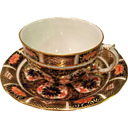 """Old Imari""  #1128 By Royal Crown Derby Cup And Saucer (5 Available)"