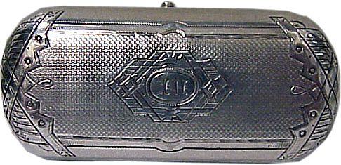 Antique Russian Silver Lady's Cigarette Case