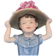 Royal Doulton HN2225 Porcelain Figurine MAKE BELIEVE GIRL