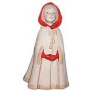 Cybis Porcelain Figurine Little Red Riding Hood