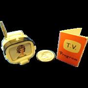 Vintage Tammy Doll Accessory 1960's TV Television and T.V. Program