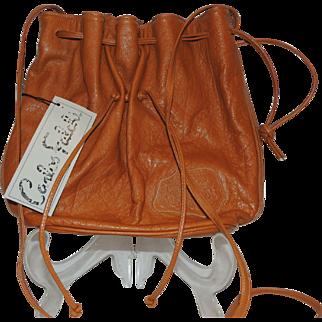 Vintage Carlos Falchi THE BUFFALO BAG Purse Handbag With Tags