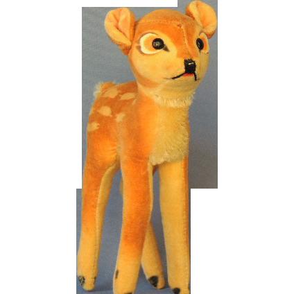 Vintage Steiff BAMBI  Deer Fawn Plush Toy
