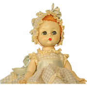 "Madame Alexander ""Little Genius"" Baby Doll 1950's"