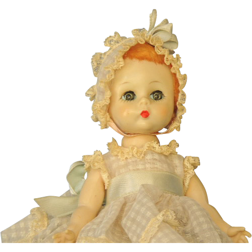 Madame Alexander LITTLE GENIUS Baby Doll 1950's