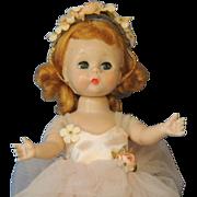 "Madame Alexander ""Ballerina Baby Doll ""Alexander-Kins"" 1950's"