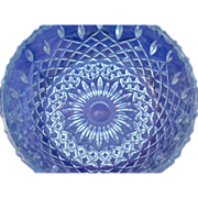 Lead Crystal Round Bowl
