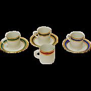 Tirschenreuth - Bavaria Demitasse Cups and Saucers