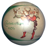 Hallmark Keepsake Ornament Norman Rockwell Christmas 1976
