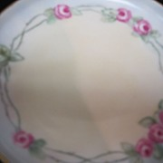 Artist Signed 1913 Porcelain Hand Painted Dish IT UNO Favorite Bavaria