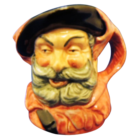 "Royal Doulton Miniature ""Falstaff"" Character Mug D6519"