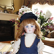 Absolutely GORGEOUS 16 inch German Sonneberg doll circa 1880