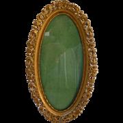 Victorian Art Nouveau Gilt Picture Frame Easel Back