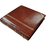 Volupte Leather Book Compact