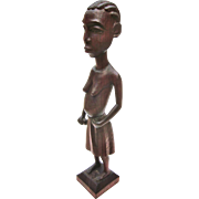 A Sensational Old Congolese Statue Pregnant Woman