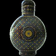 An Antique Laque Burgauté Chinese Snuff Bottle