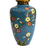A Colorful Old Chinese Cloisonne Vase