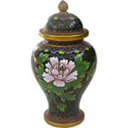 A Beautiful Miniature Chinese Meiping Cloisonné Vase