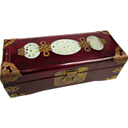 An Excellent Vintage Chinese Jewelry Box