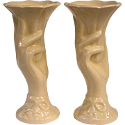 A Matched Pair of McCoy Hand Vases