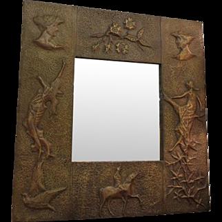 Arts and Crafts Wall Mirror