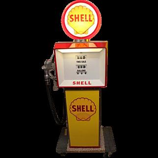Shell Gas Pump