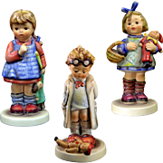 Hummels Lot of Three Doll Theme 486, 127, 422