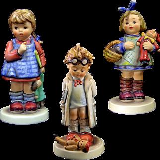 Hummels Lot of Three Doll Theme 486, 127, 422