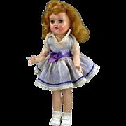 "Ideal Toni 14-1/2"" Walker Doll All Original 1954-56 Rare Hair Streak"