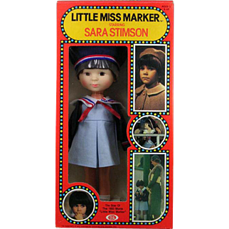 Ideal Little Miss Marker Actress Sara Stimson Doll New in Box