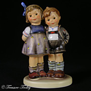 Hummel 449 The Little Pair MINT In Box Exclusive Edition COA Retired