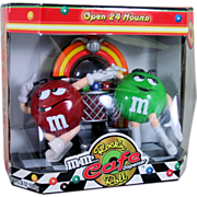 M&M Rock'n Roll Cafe Diner Candy Dispenser