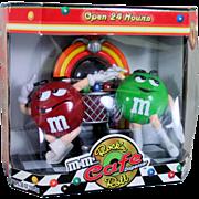 M&M Rock'n Roll Cafe Diner Candy Dispenser