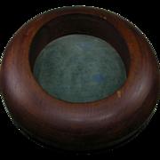 Millinery Wooden Hat Mold Single Brim Form S&JG JAM