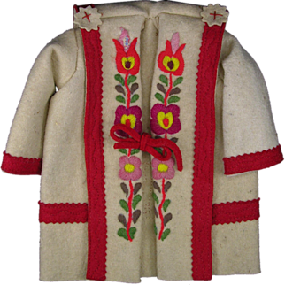 Lenci Type Colorful Doll Coat