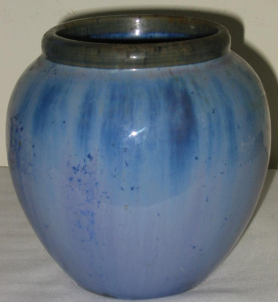 Fulper Blue Vase Medium Vintage