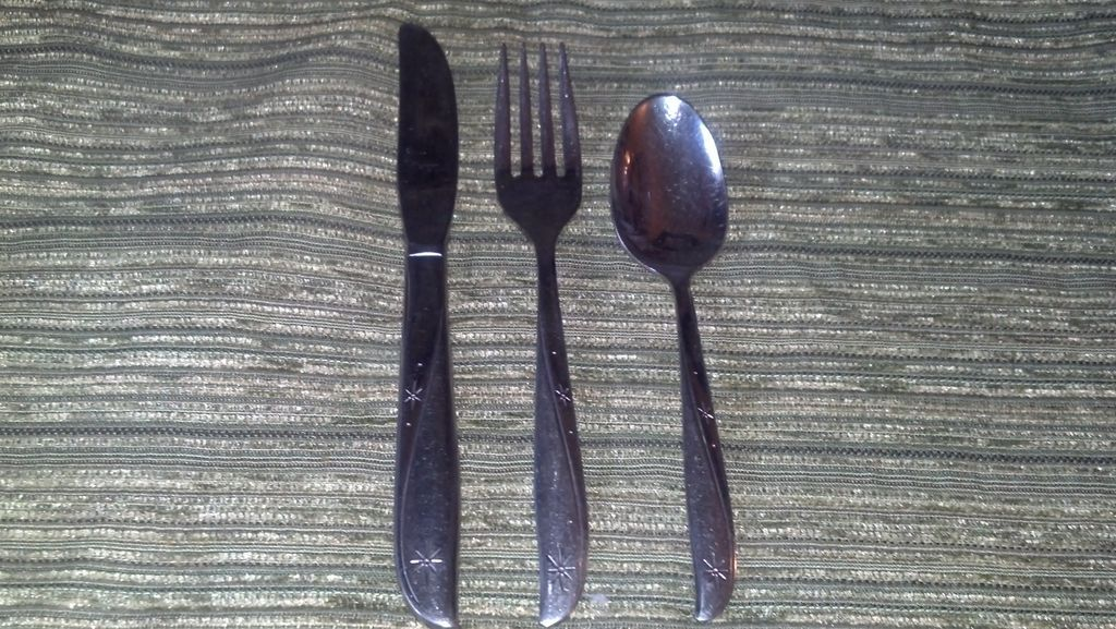 Twin Star Atomic Ware Children's Set Cutlery/Flatware