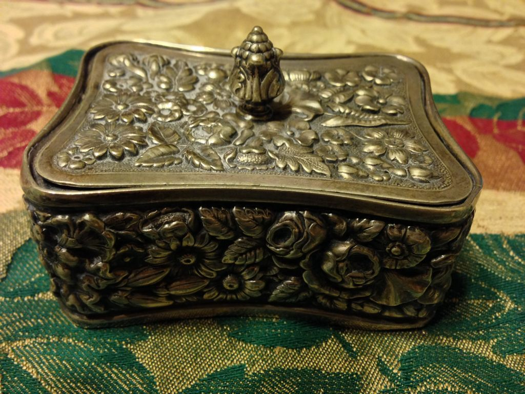 Tiffany Stamp Box