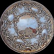 Vintage Towle Sterling Silver Mirror No Mono