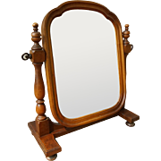 Victorian French Country Style Adjustable Vanity or Shaving Mirror