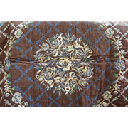 Beautiful Vintage Tapestry Double Sized Throw 48""