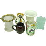 Small Collection of Toothpick Holders, Fenton, England, Occupied Japan+