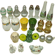 Small Collection of Salt & Pepper Shakers, Occupied Japan+