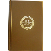 The Complete Poetical Works of John Greenleaf Whittier, 1894